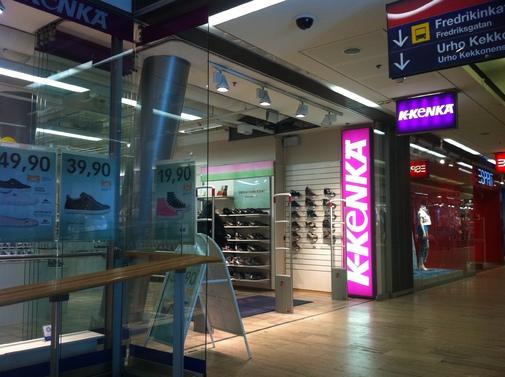 K-Kenkä store front