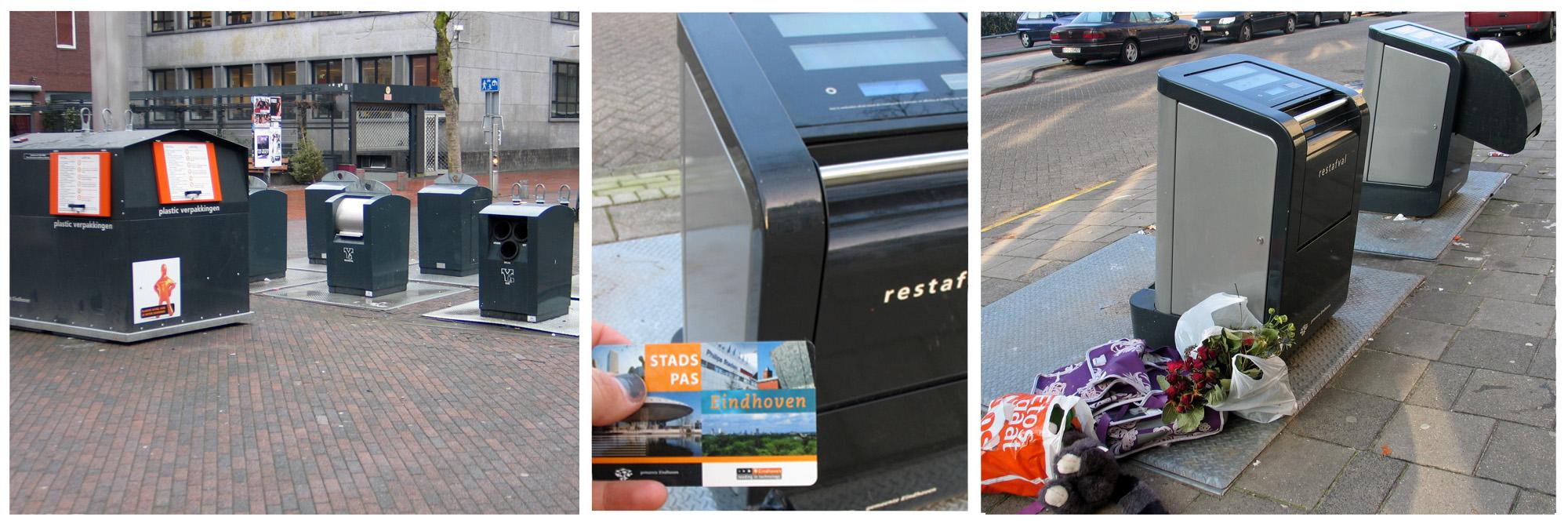 avfal en vuilnisbak in Eindhoven